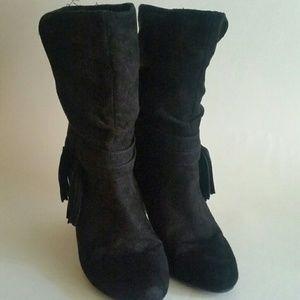 Express Tassel Boots